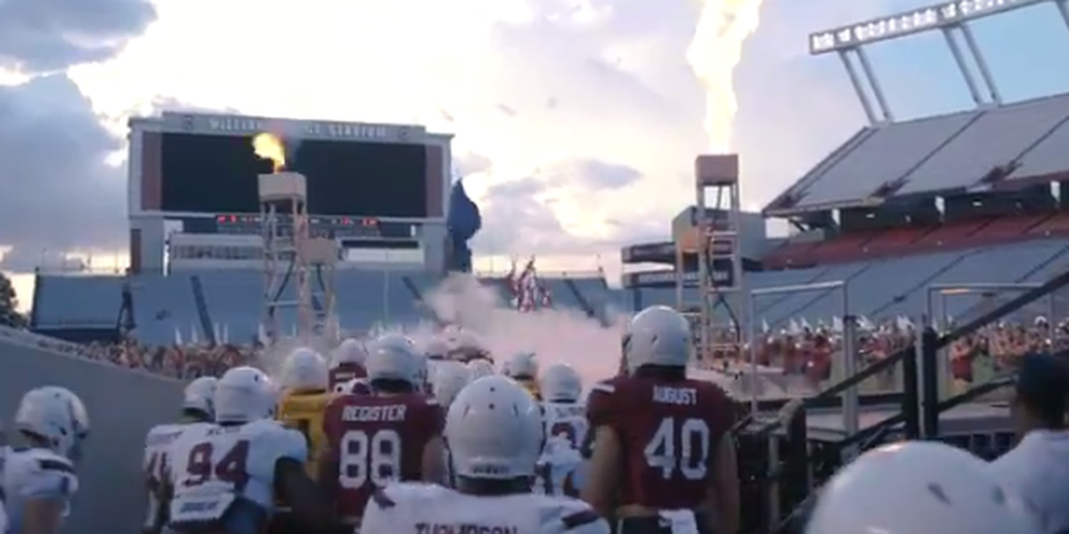 Gamecocks to add flames to famed entrance before games