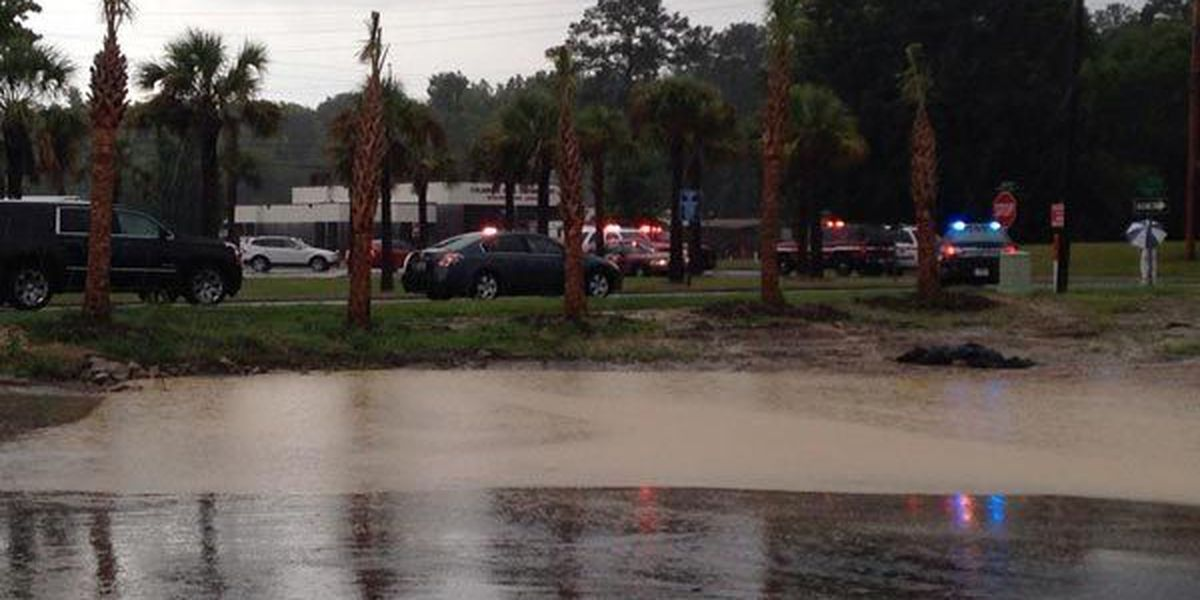 Plant worker: Heavy rain to blame for partial building collapse