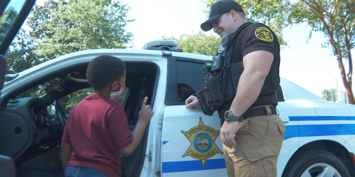 8-year-old afraid of law enforcement forms unexpected friendship with Kershaw County deputy