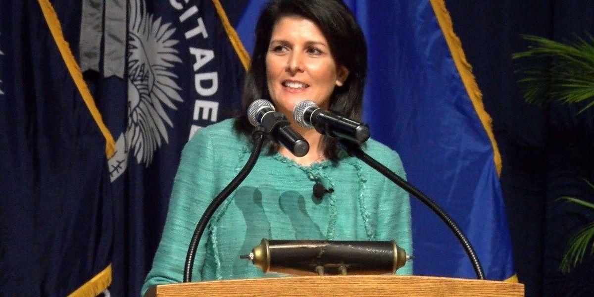 READ: Gov. Nikki Haley's statement on becoming UN Ambassador