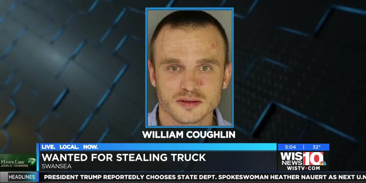 Swansea man wanted for stealing truck