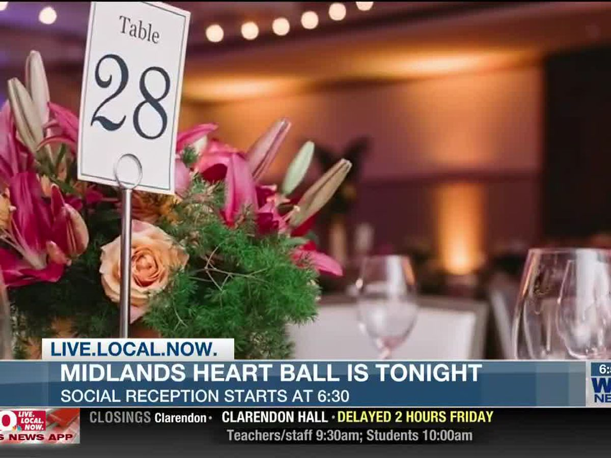 WIS-TV is Media Sponsor of 2020 Midlands Heart Ball