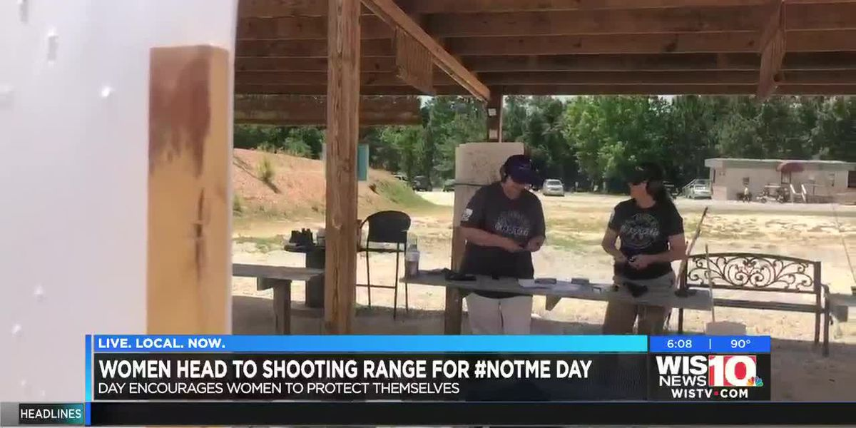 Woman in the Midlands join nationwide unity at shooting ranges for #NotMe Day