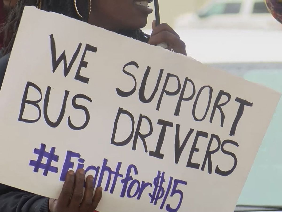 One week later, group of Sumter School District bus drivers remain on strike