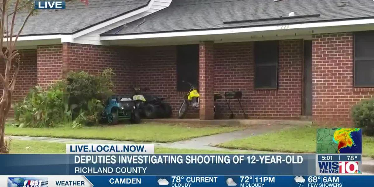 12-year-old rushed to hospital after shooting in Eastover