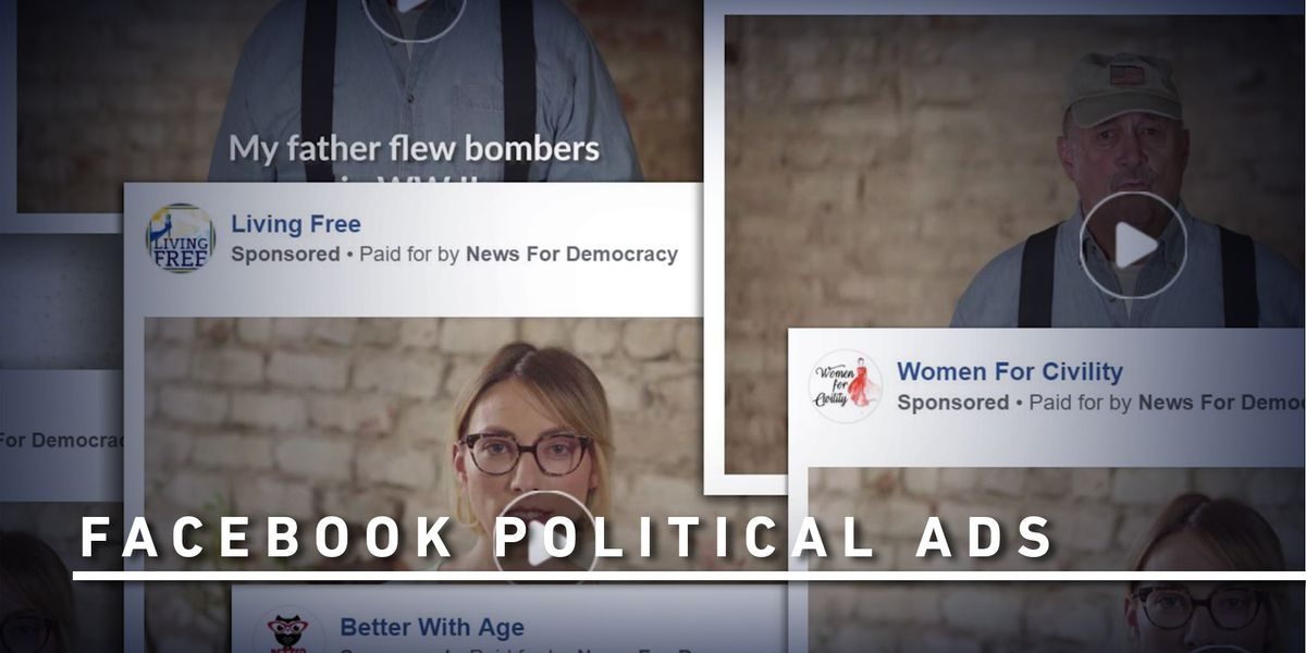 You're in a political ad. (But you don't know who's behind it)