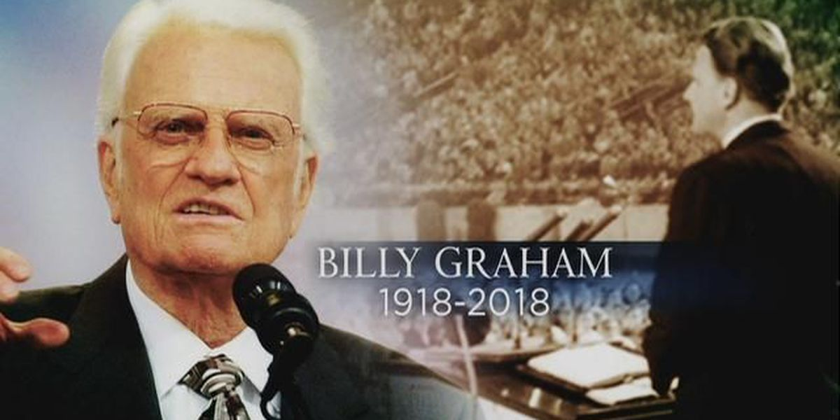 Son: Late Rev. Billy Graham wished to have 'preacher' on tombstone