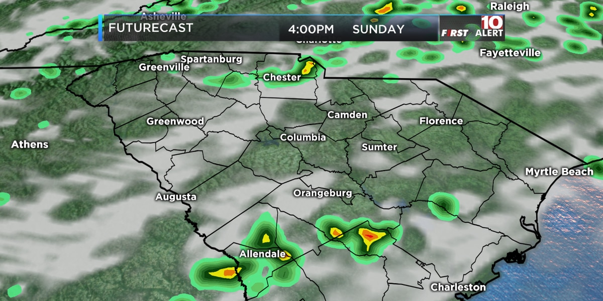 FIRST ALERT: A few downpours Sunday, but turning better early this week