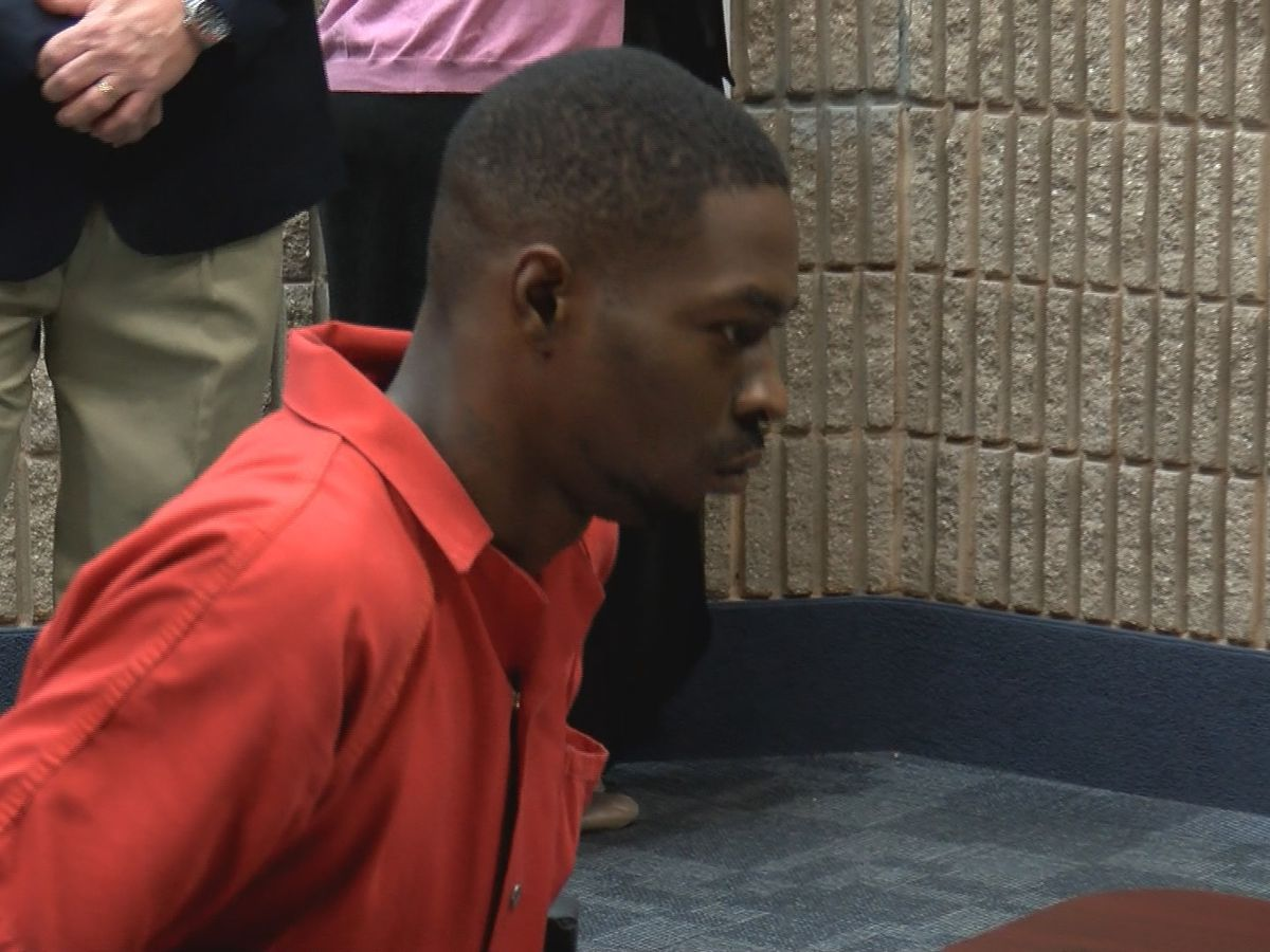 Man who was charged with murder while out on bond appears in court