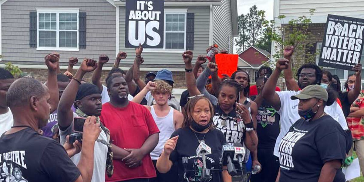 Neighbors react to protest following confrontation outside Summit home