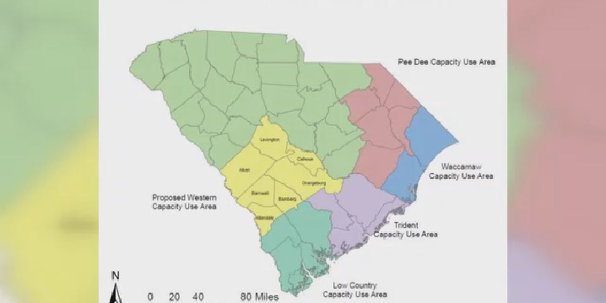 If you use large amounts of water in these SC counties, you may need a permit