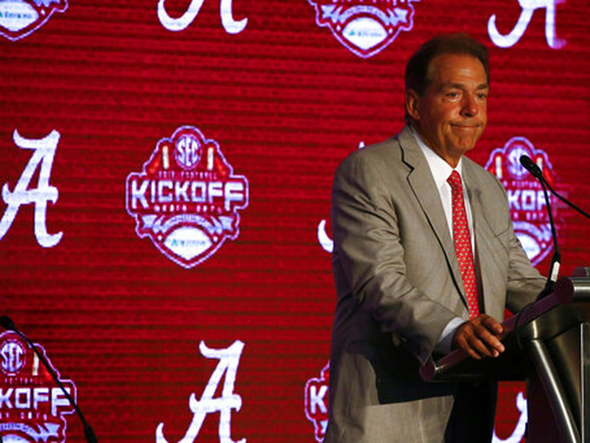 Saban: 'I remember a lot' about 2010 loss to South Carolina