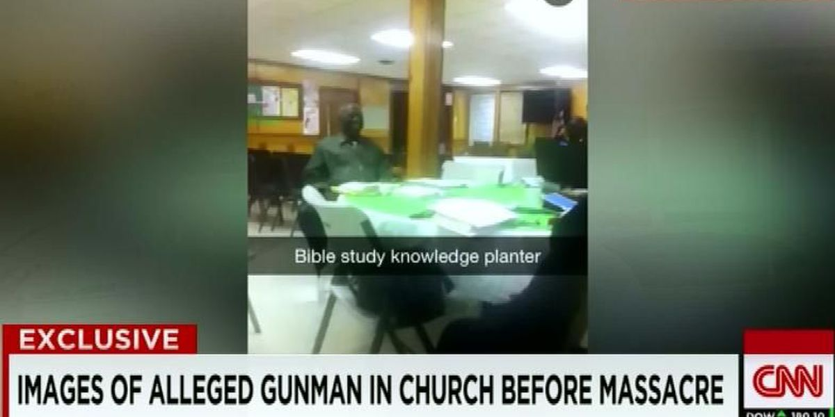 Video apparently shows Emanuel AME Church Bible study group