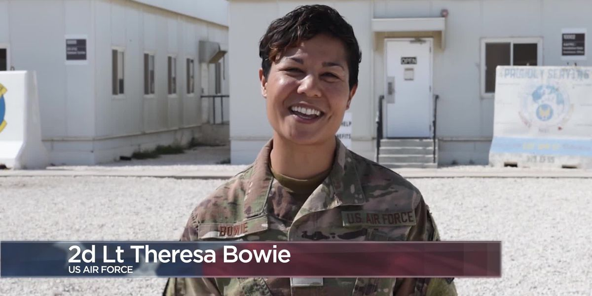 Military Greetings - 2nd Lt. Theresa Bowie