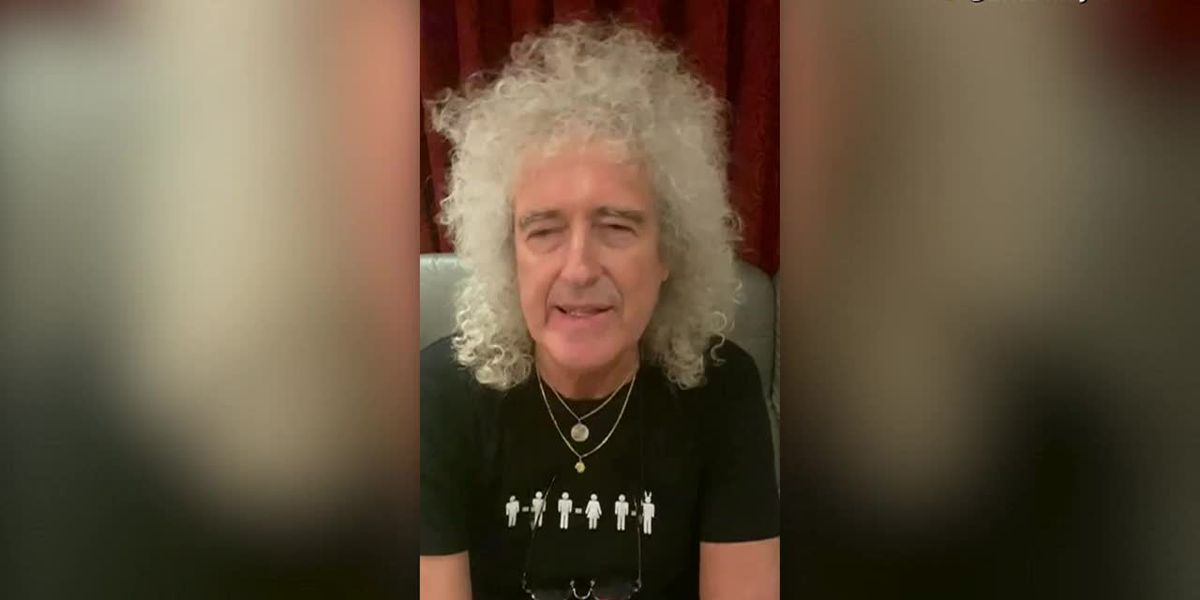 Queen's Brian May talks about heart attack