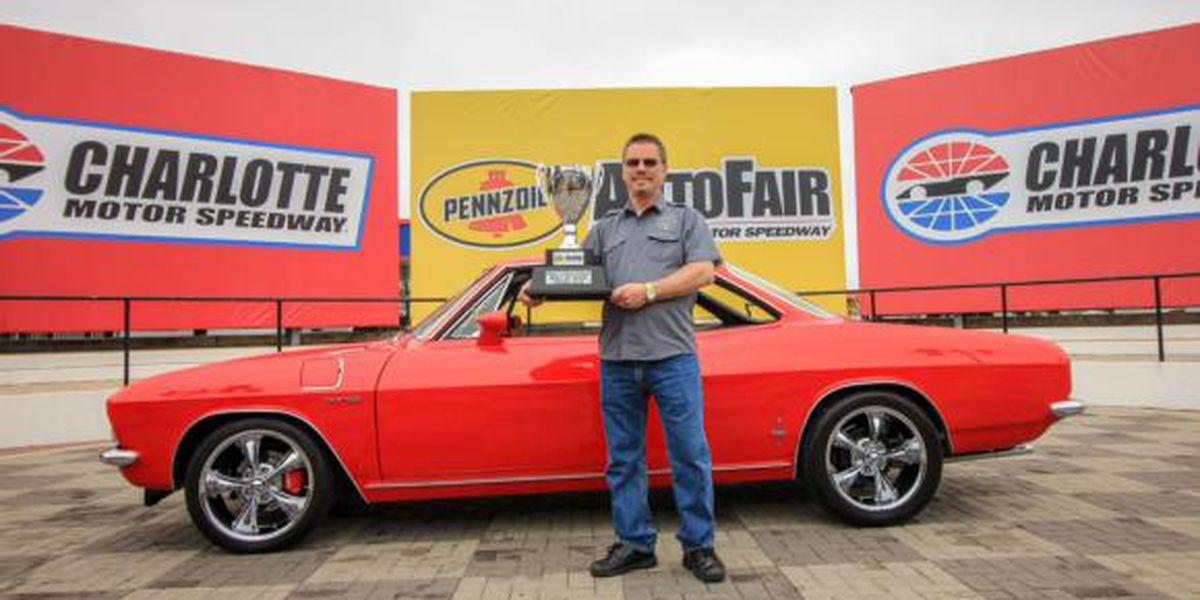 Rock Hill man's 1965 Corvair Corsa honors late father, wins Best of Show at Pennzoil AutoFair
