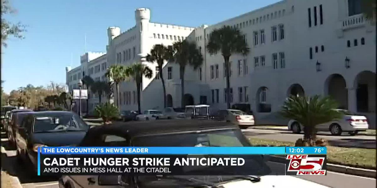VIDEO: Citadel officials anticipate hunger strike from cadets amid reported issues in mess hall