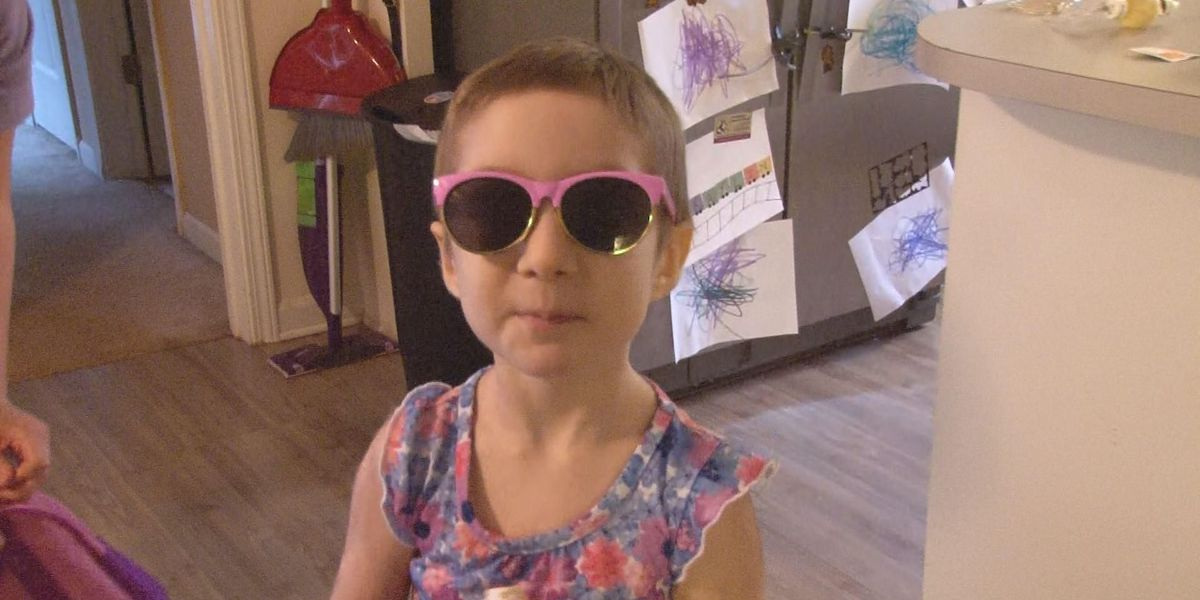 Kick it, Kaylin: 4-year-old's tough fight with rare cancer inspires those around her