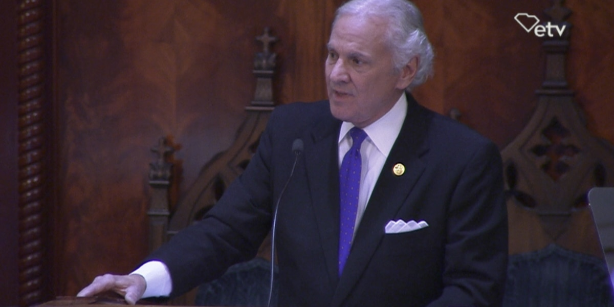 McMaster calls for SC to get back to work, classrooms to reopen in State of the State address
