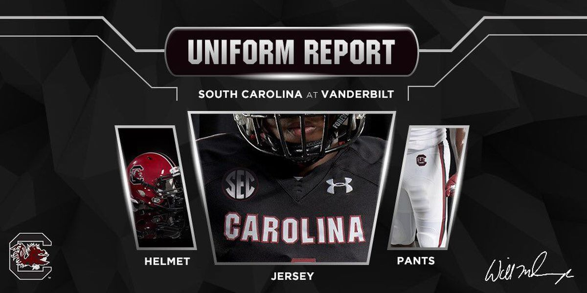 UNIFORMS REVEALED: What will the Gamecocks be wearing vs. Vandy?