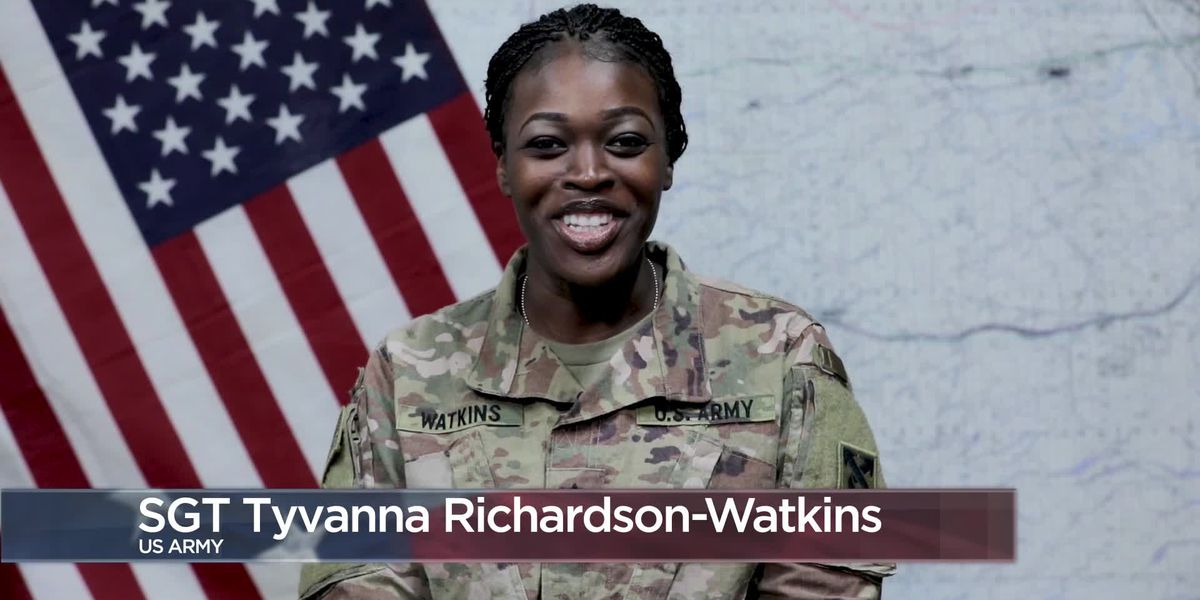 Military Greetings - Sgt. Tyvanna Richardson-Watkins