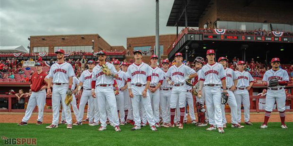 Gamecocks polish off series win with Sunday shutout out VMI