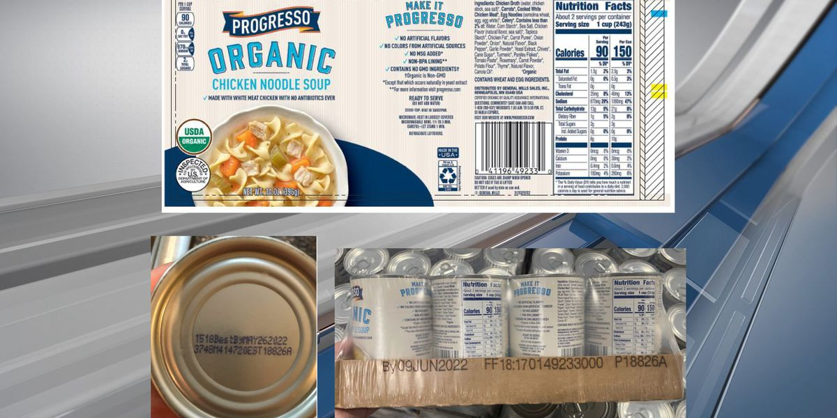 USDA recalls 15,134 pounds of canned soup from Faribault Foods, Inc.
