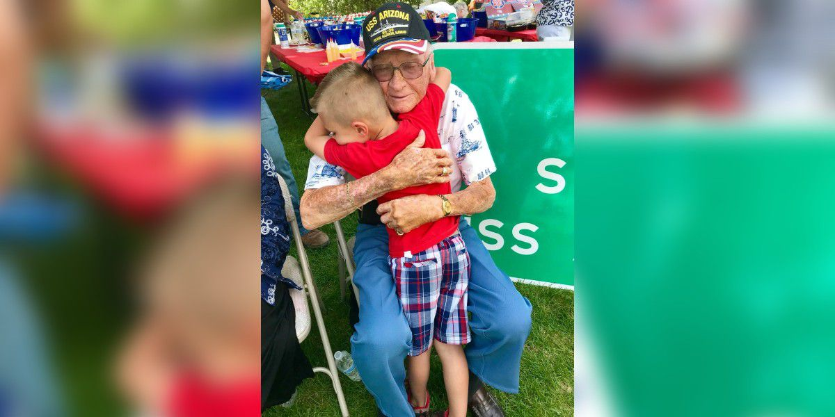 8-year-old Union Co. boy to speak at funeral for 97-year-old World War II veteran