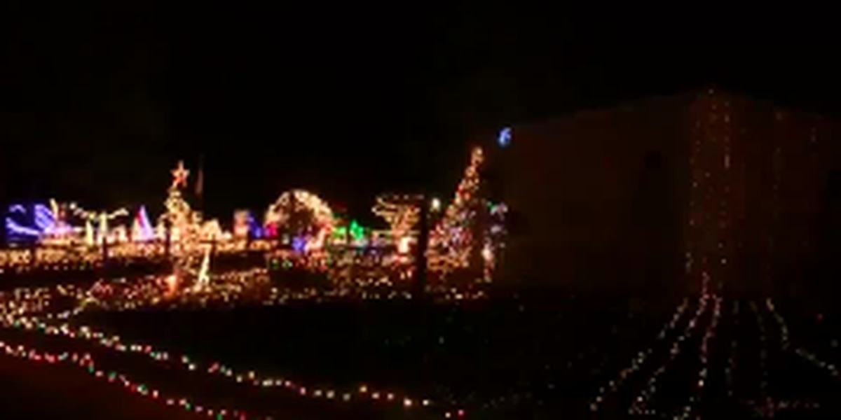 Elgin Lights creator celebrates 'Christmas miracle' after years of battling cancer