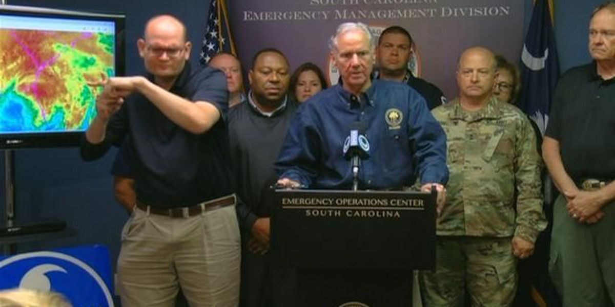 McMaster: State not out of the woods yet despite diminished threat from Irma