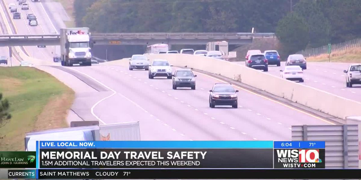 Thursday night the worst time for Memorial Day travelers