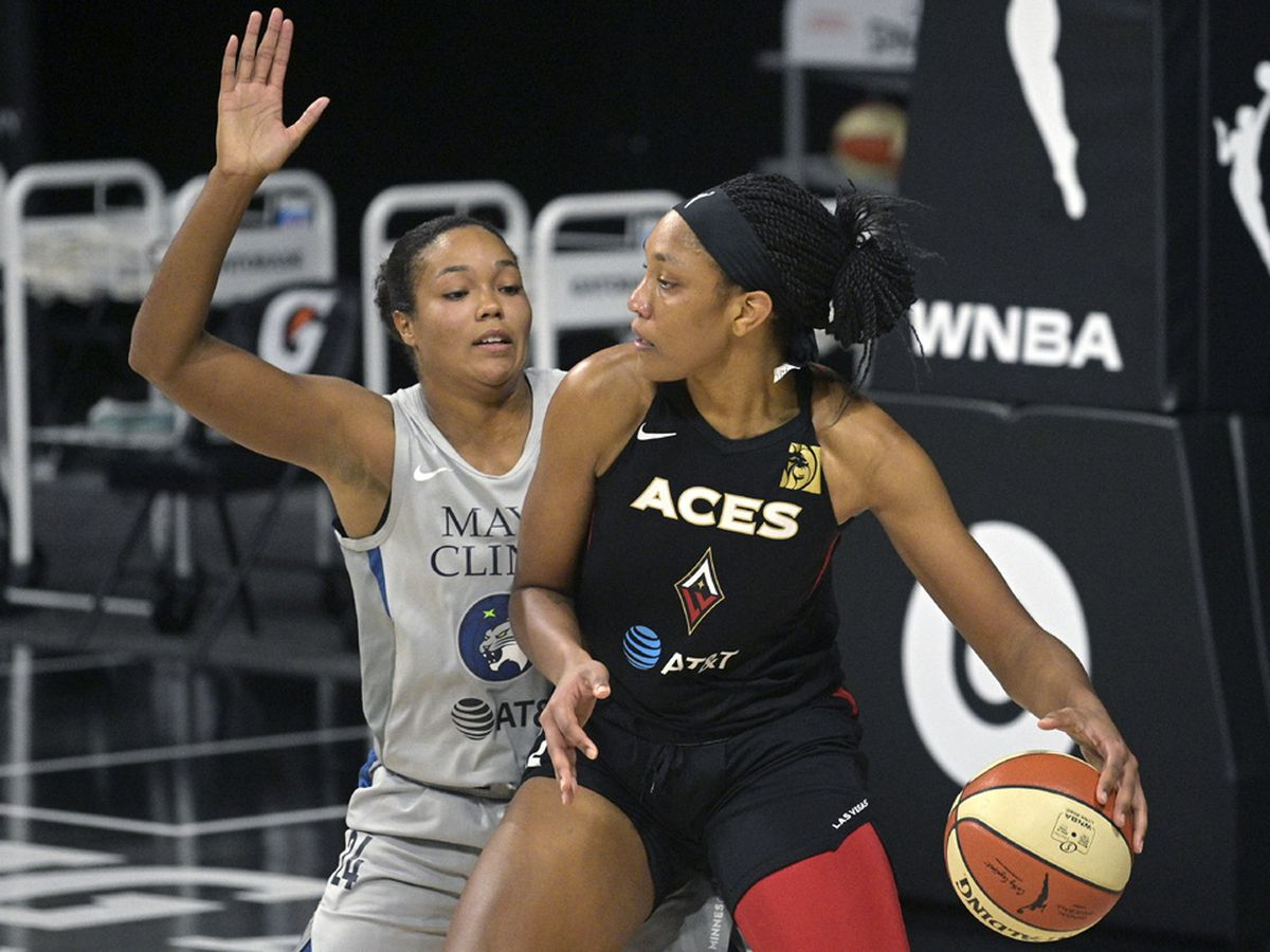 Aces' Wilson named AP WNBA Player of the Year