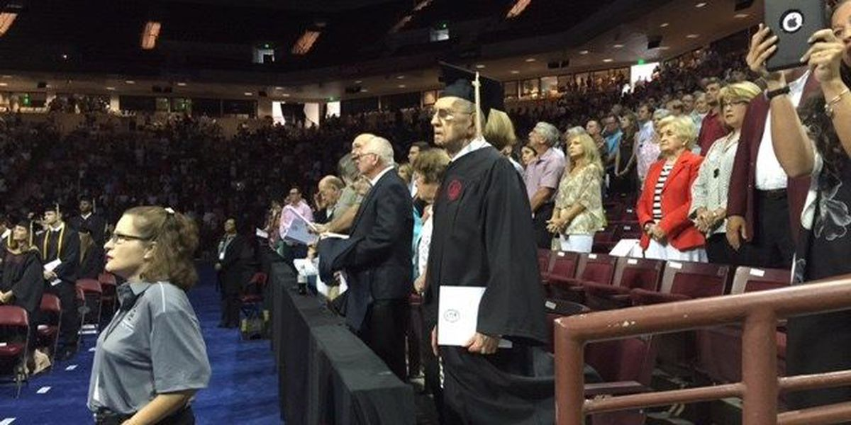 SC Chief Justice Jean Toal speaks at USC commencement