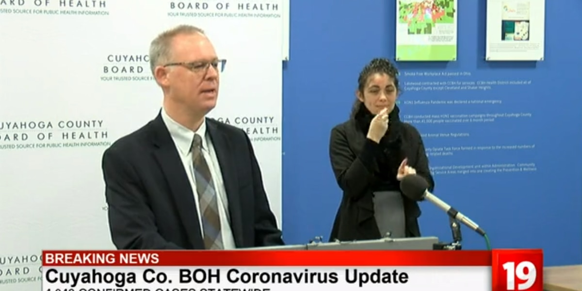1-week-old baby tests positive for coronavirus in Cuyahoga County