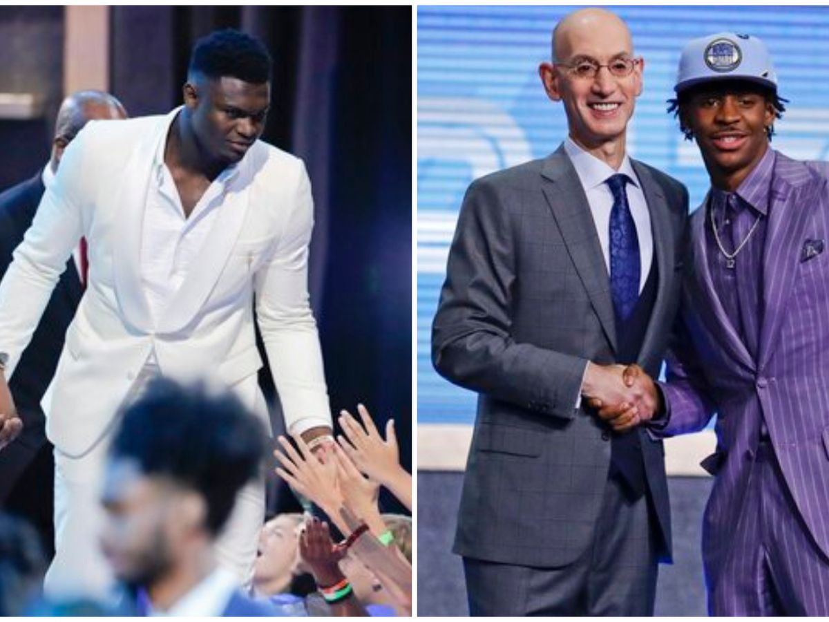 Williamson becomes No. 1 overall pick in NBA draft; Morant picked second