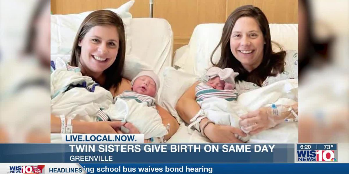Upstate twin sisters deliver babies just minutes apart