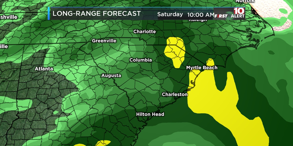FIRST ALERT: Prepare for areas of heavy rain on Saturday