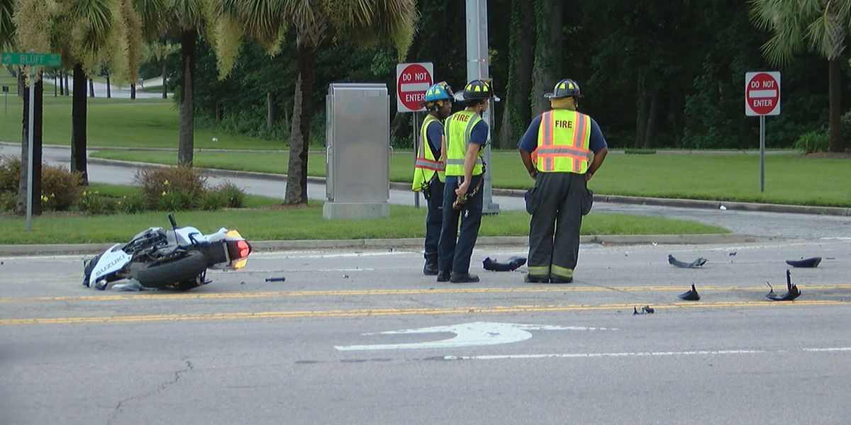 Police investigating crash involving motorcycle