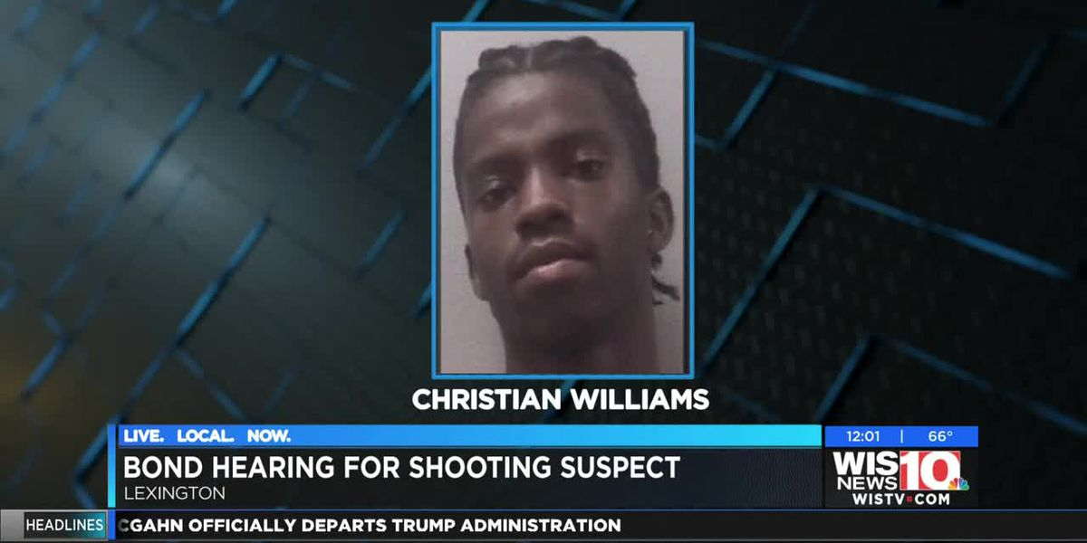 Bond hearing set for Christian Williams