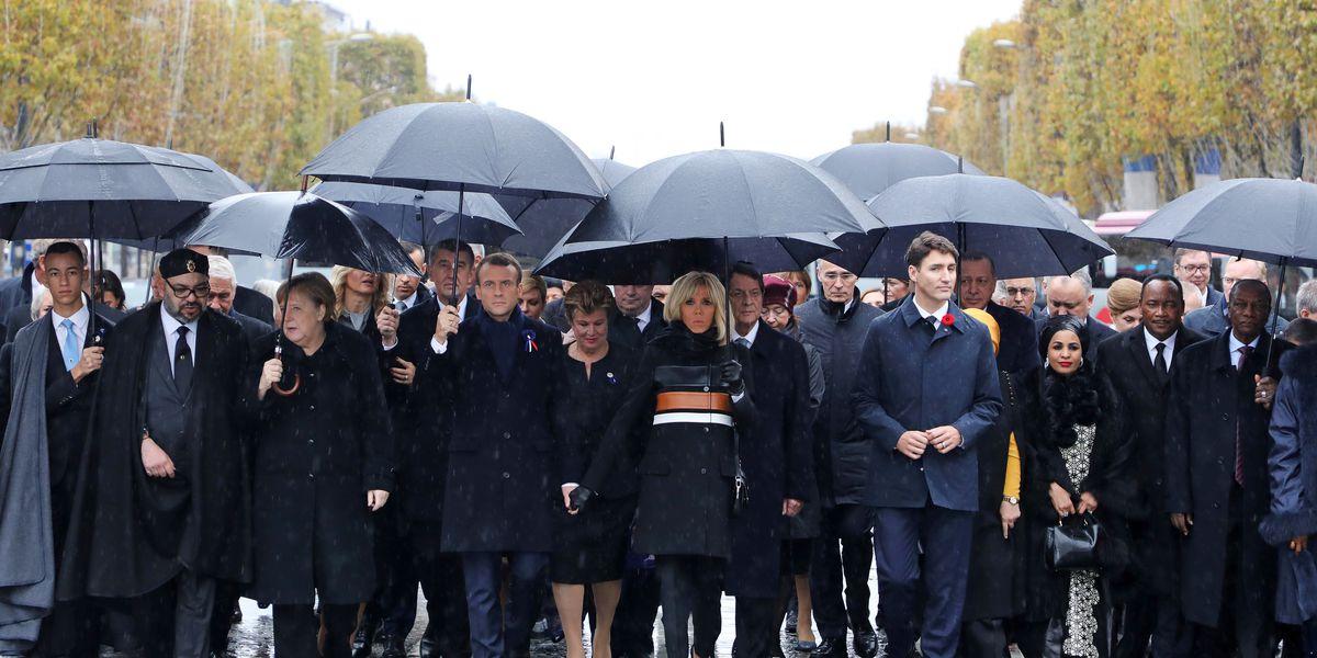 The Latest: Leaders discuss Ukraine elections at Paris meet