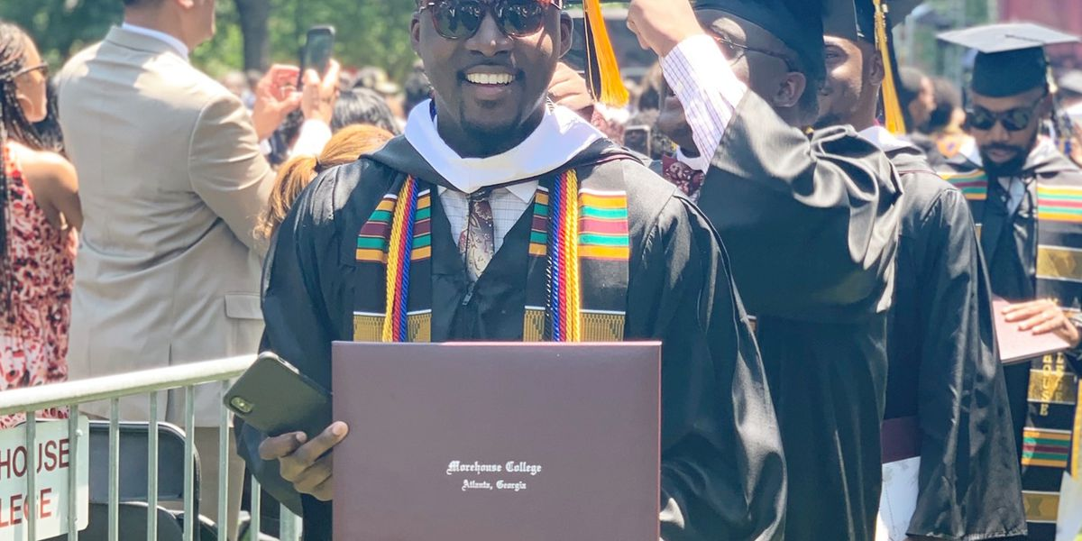 'Am I dreaming or is it true?' SC 'Morehouse man' graduates with no student debt after extraordinary gift