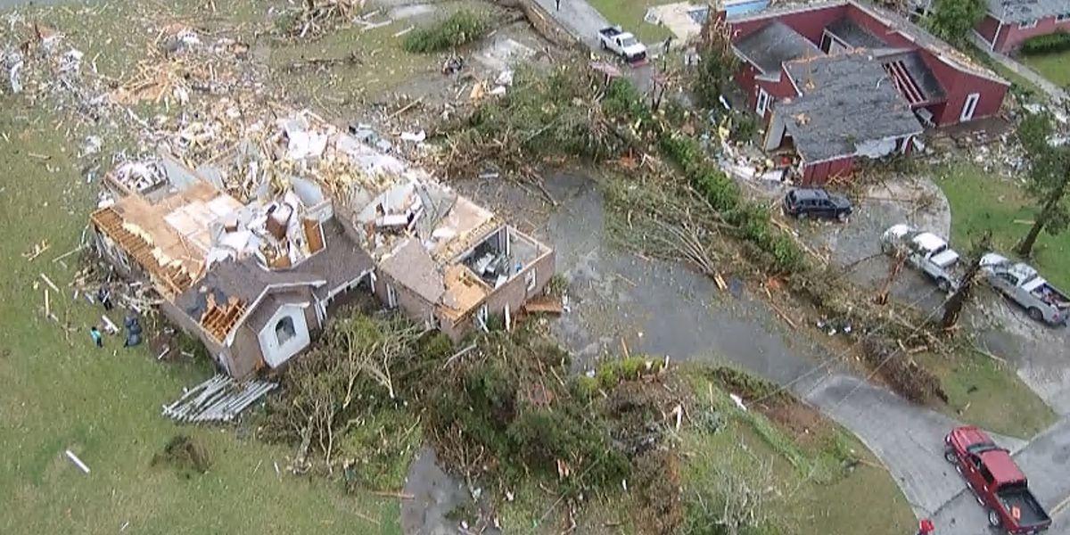 National Weather Service upgrades Moncks Corner tornado, finds 2 more in Berkeley County