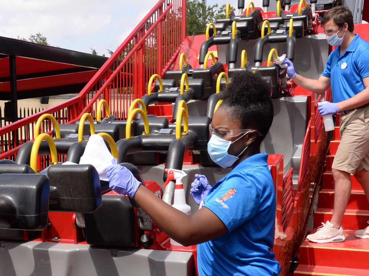 Six Flags announces new safety measures for when parks reopen