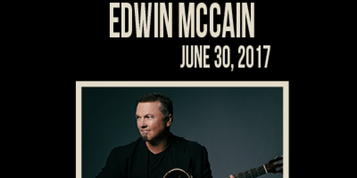 Edwin McCain to play Lexington's new amphitheater
