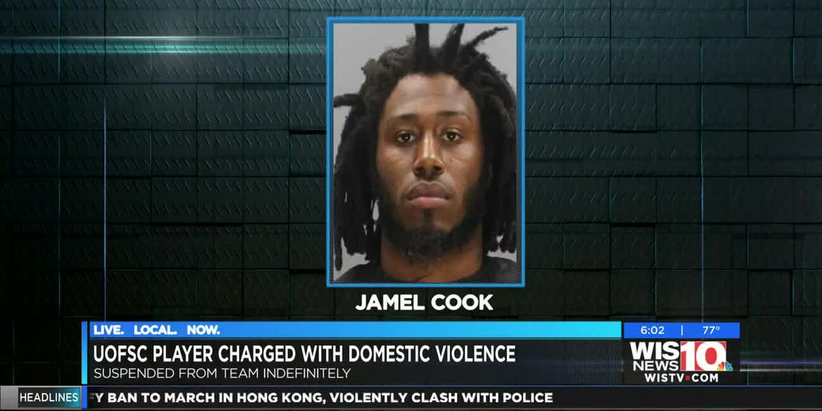 Gamecocks reserve DB Jamel Cook suspended, charged with domestic violence
