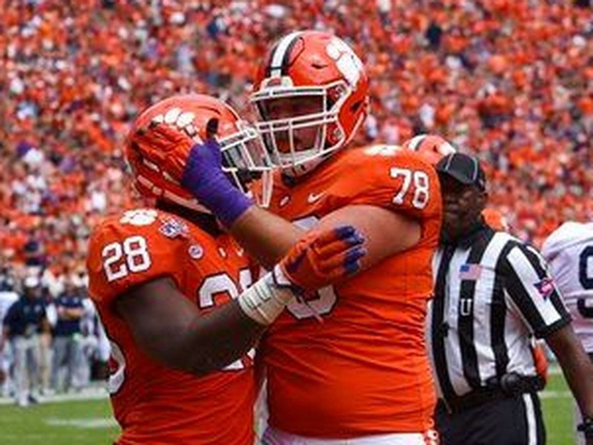 No. 2 Clemson plays amid storm for 38-7 win vs Ga Southern