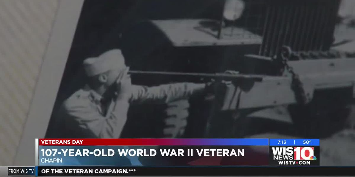 107-year-old Veteran reflects on his extraordinary life