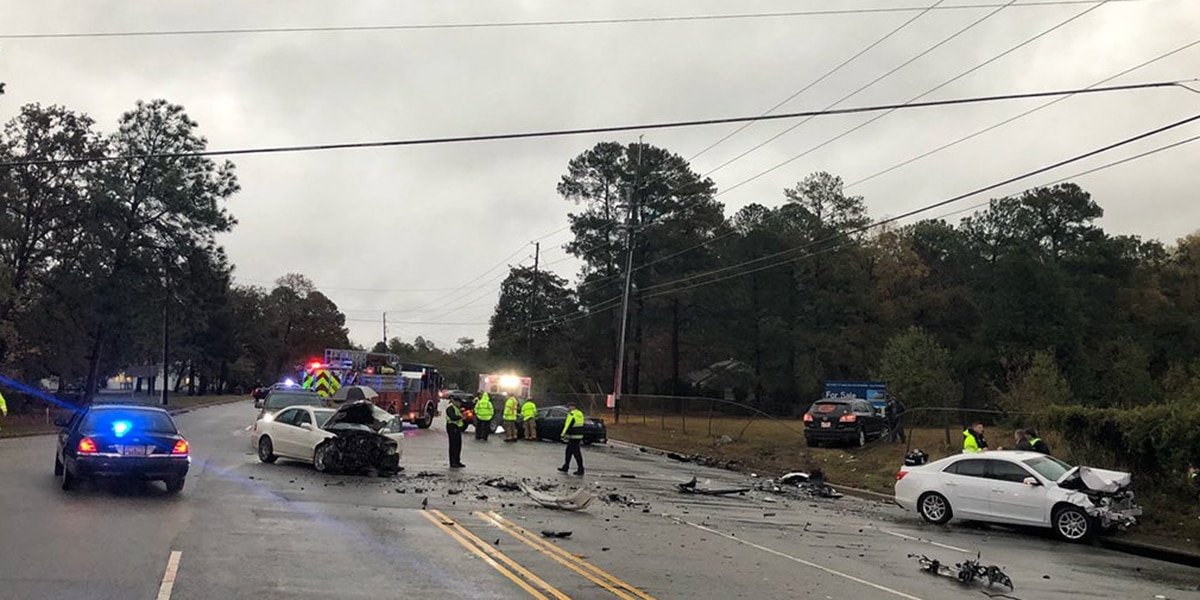 Fatal collision closes part of Augusta Road, detours in place