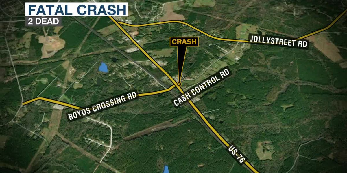2 people killed in single-car crash in Newberry County