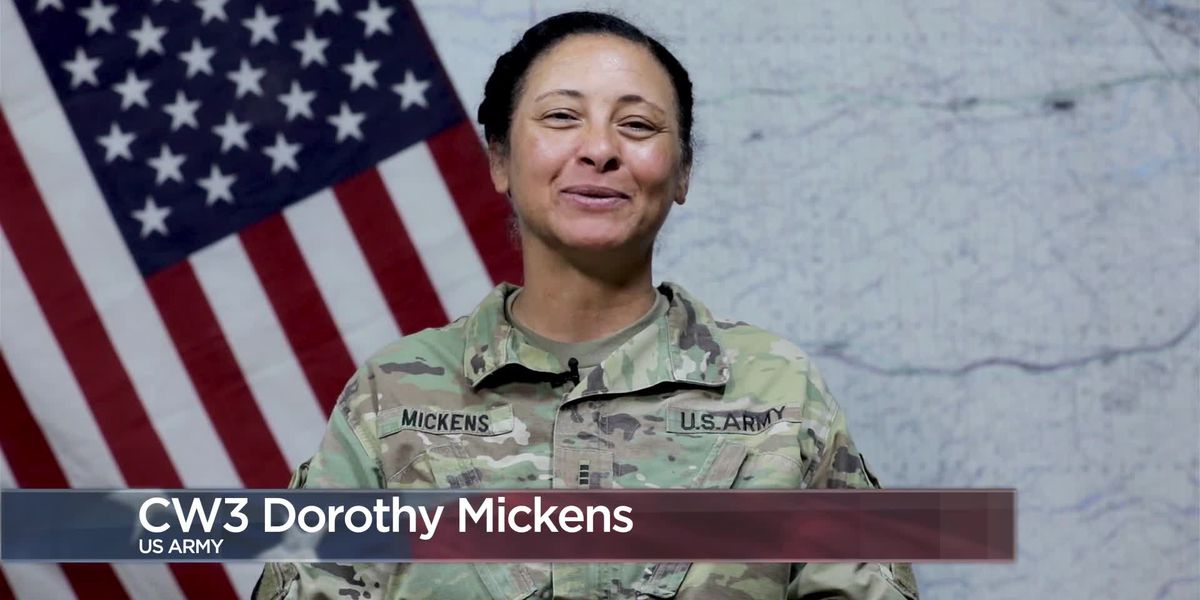 Military Greetings - Chief Warrant Officer 3 Dorothy Mickens